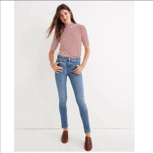 NWT Madewell 9' High Rise Skinny size 36 T DR